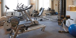 the bay hotel gym
