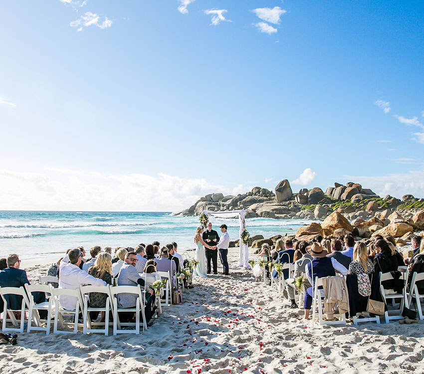 camps bay beach wedding package