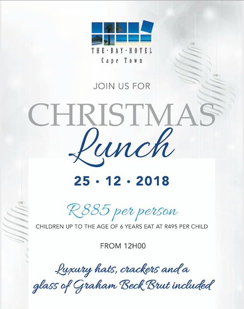 christmas lunch at the bay hotel